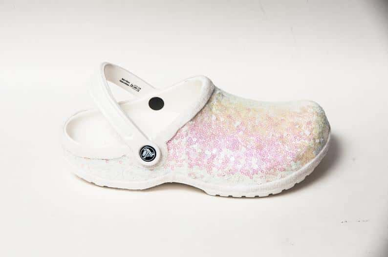 White, Sparkly Bridal Crocs Are Now A